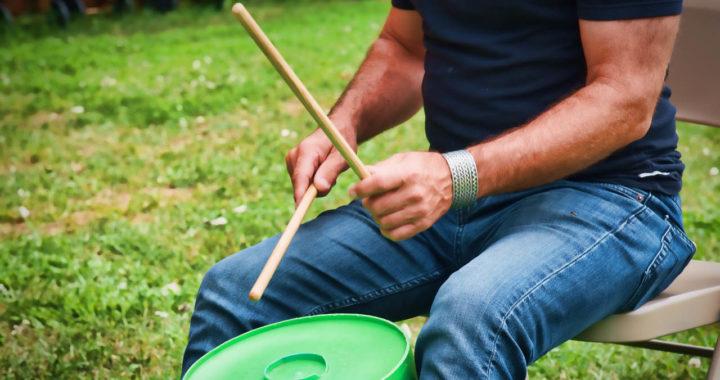 percussion in park