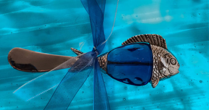 glass fish art